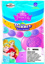 Princess Latex Banner Balloons